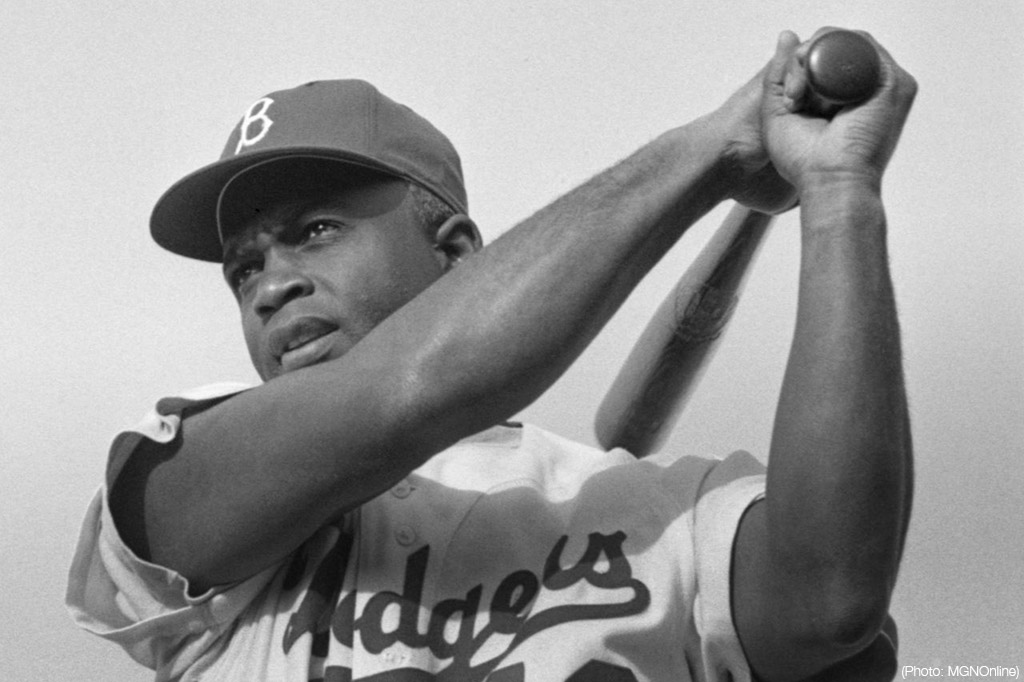 Jackie Robinson - photo courtesy of MGNOnline
