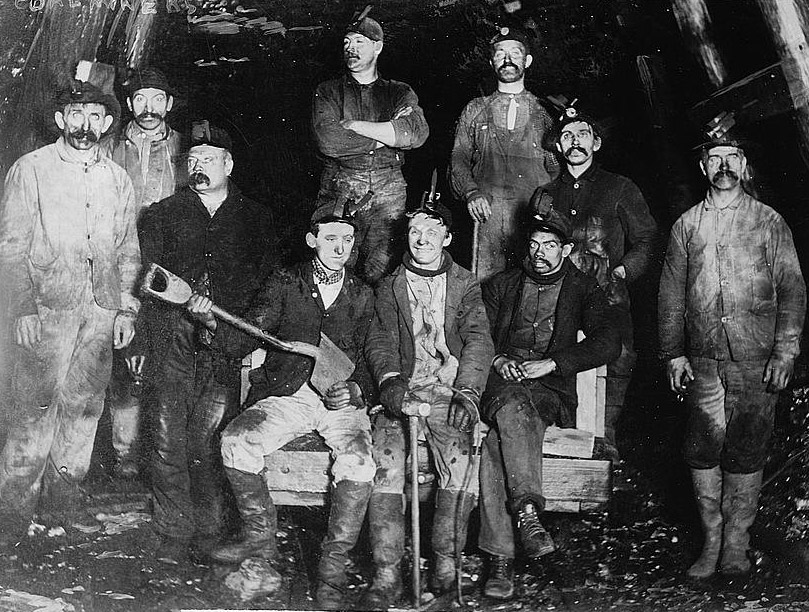 Coal mining was dangerous, unhealthy and dirty work. But for many in Southern Illinois in the early 1900's it was the only living available.  Better to head west and pan for gold in an open stream, reasoned my dad when he headed for Alaska at age 17.