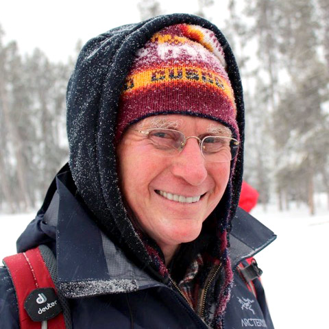 Me at Yellowstone in 2014