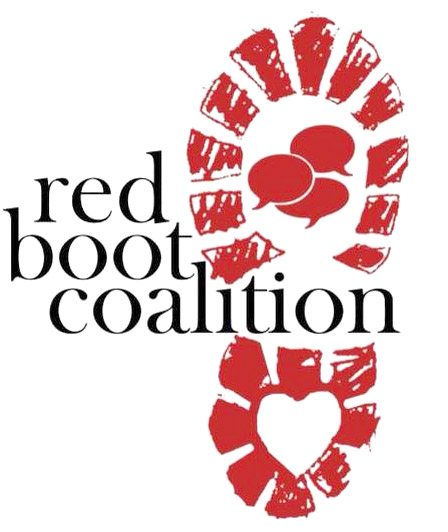 The Red Boot Coalition is a new dialogue that getsbeneath labels, polarization, ideologies, anger and fear. Red Booters love, listen and lead.