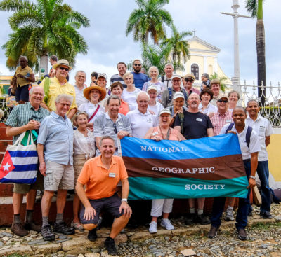 My National Geographic Society traveling cohorts in Cuba.