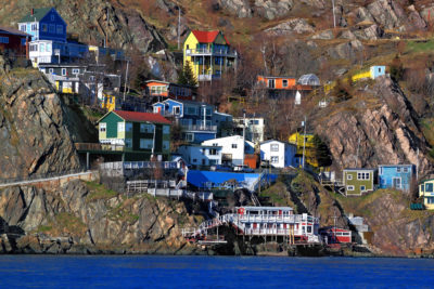 The jelly bean houses offered more than a brighter landscape, they gave the fishermen a bearing in the days before GPS.