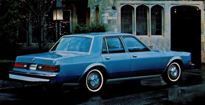 Not **my** Plymouth Caravelle. This photo is from a promotional brochure at the time. It was a great car, but my one taught me a greater lesson.
